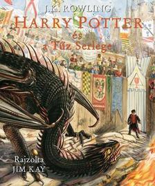 J. K. Rowling - Harry Potter és a Tűz serlege - Illusztrált kiadás