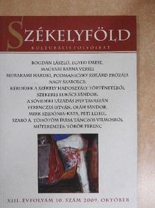 Bogdán László - Székelyföld 2009. október [antikvár]