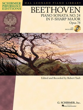BEETHOVEN - PIANO SONATA NO.24 IN F-SHARP MAJOR OP.78, CD INCLUDED