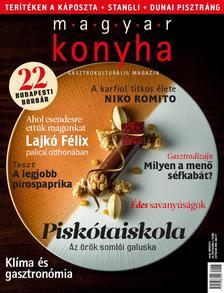Magyar Konyha - Magyar Konyha - 2020. március (44. évfolyam 3. szám)