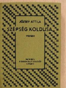 József Attila - Szépség koldusa (minikönyv) [antikvár]