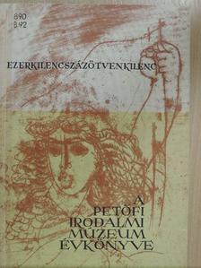 Balkányi Enikő - A Petőfi Irodalmi Múzeum évkönyve 1959 [antikvár]