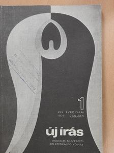 Bertha Bulcsu - Új Írás 1979. január [antikvár]