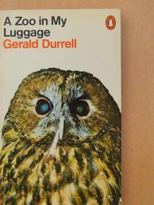 Gerald Durrell - A Zoo in My Luggage [antikvár]