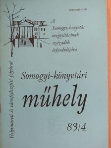 Apró Ferenc - Somogyi-könyvtári műhely 83/4 [antikvár]