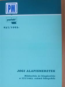 Dr. Juhász József - Jogi alapismeretek [antikvár]
