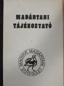 Ács Attila - Madártani tájékoztató 1985. július-december [antikvár]