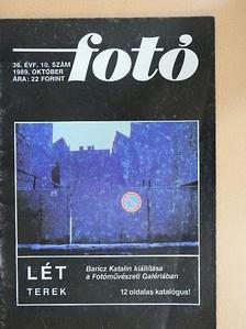 Fátrai Mária - Fotó 1989. október [antikvár]