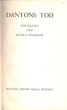 Georg Büchner - Dantons Tod [antikvár]