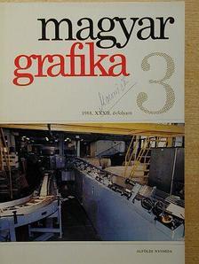 Buzás Ferenc - Magyar Grafika 1988/3. [antikvár]