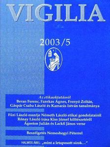 Ágoston Julián - Vigilia 2003. május [antikvár]
