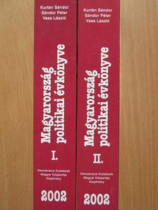 Agárdi Péter - Magyarország politikai évkönyve 2002. I-II. [antikvár]