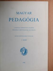 Balassa Katalin - Magyar Pedagógia 1998/3. [antikvár]