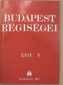 Boda Jenő - Budapest régiségei XXIV/3. [antikvár]