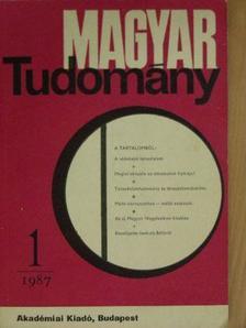 Ágh Attila - Magyar Tudomány 1987. (nem teljes évfolyam) [antikvár]