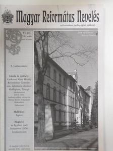 Dr. Horváth József - Magyar Református Nevelés 2005. december [antikvár]