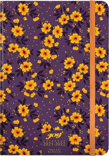 JOY Calendar heti tervező naptár B6 - 2021-2022 - Tiny Flowers