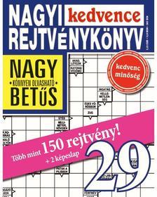 CSOSCH KIADÓ - Nagyi Kedvence Rejtvénykönyv 29.