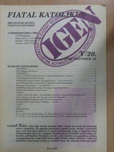 Czakó Gábor - Fiatal katolikus 1993. október 15. [antikvár]
