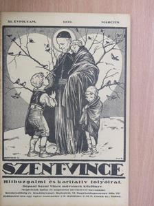 B. J. - Szent Vince 1939. március [antikvár]
