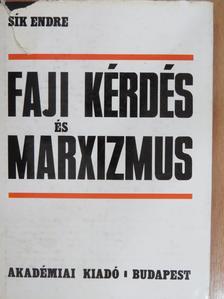 Sík Endre - Faji kérdés és marxizmus [antikvár]