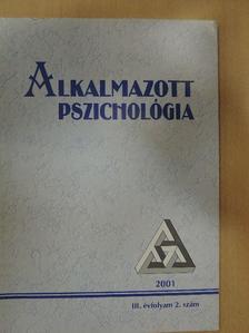 Berkics Mihály - Alkalmazott Pszichológia 2001/2. [antikvár]