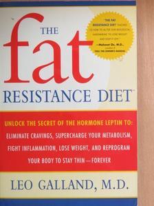 Leo Galland - The Fat Resistance Diet [antikvár]