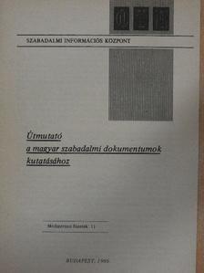 Kincses István - Útmutató a magyar szabadalmi dokumentumok kutatásához [antikvár]