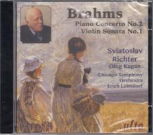 BRAHMS... - PIOANO CONCERTO NO.2 - VIOLIN SONATA NO.1 CD SVIATOSLAV RICHTER, OLEG KAGAN