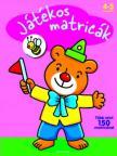Játékos matricák - Maci