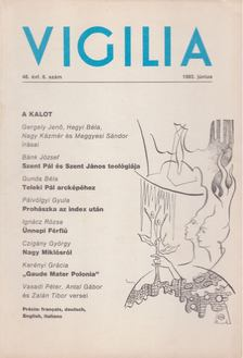 Hegyi Béla - Vigilia 1983. 48. évf. 6. szám [antikvár]