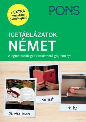 Eva Maria Weermann - PONS Igetáblázatok Német - Új