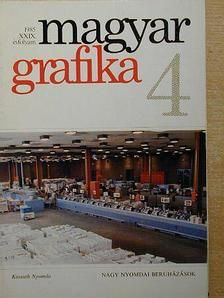 Danóczy Balázs - Magyar Grafika 1985/4. [antikvár]