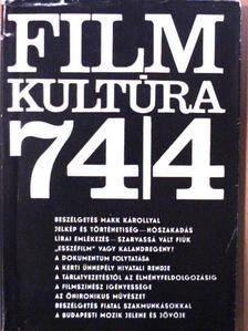 Ecaterina Oproiu - Filmkultúra 1974. július-augusztus [antikvár]