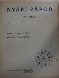 Zágon István - Nyári zápor [antikvár]