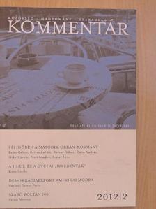 Balázs Zoltán - Kommentár 2012/2. [antikvár]