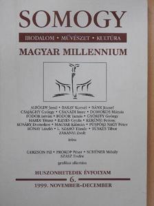 Alföldy Jenő - Somogy 1999. november-december [antikvár]