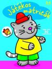 Játékos matricák - Cica