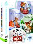 Disney klasszikusok díszdoboz 3.  (4 DVD