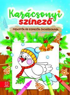 Anna Podgórska - Karácsonyi színező - Fejtörők és színezők óvodásoknak