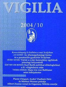 Albert Zsuzsa - Vigilia 2004. október [antikvár]