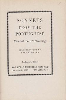 Elizabeth Barrett Browning - Sonnets from the Portugese [antikvár]