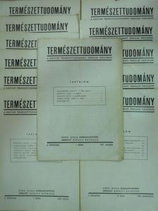 Alföldy Jenő - Természettudomány 1947. január-december [antikvár]
