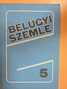Bencsik István - Belügyi Szemle 1989. május [antikvár]