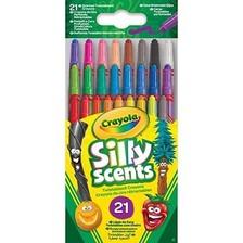 Crayola Mini Illatos csavarozható zsírkréta készlet