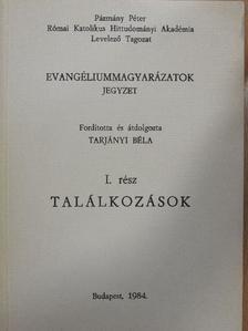 Tarjányi Béla - Evangéliummagyarázatok I. [antikvár]