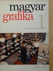 Bihari Gábor - Magyar Grafika 1987/1. [antikvár]