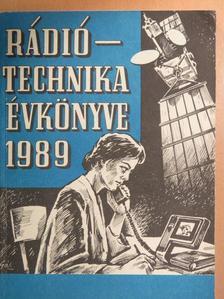 Bassó Andor - A Rádiótechnika évkönyve 1989 [antikvár]