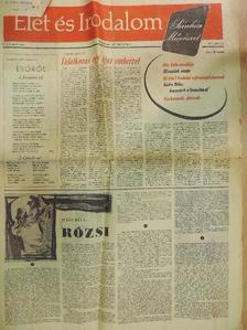 Fazekas Anna - Élet és Irodalom 1957. június 21. [antikvár]