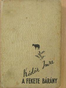 Kádár Imre - Fekete bárány [antikvár]